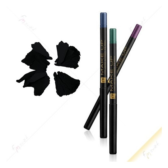 Automatická tužka na oči DECADENCE BLACK - FM KR01