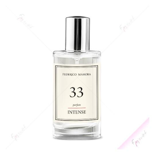 FM 33 - Dámský Parfém Intense (30%) (Dolce & Gabbana - Light Blue)