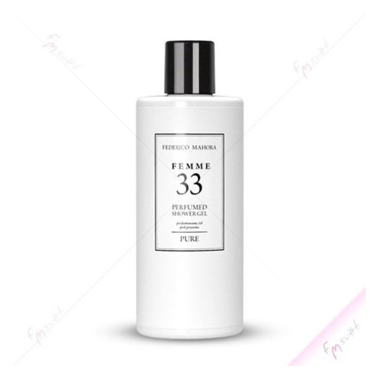 FM 33 - Dámský sprchový gel (Dolce & Gabbana - Light Blue)