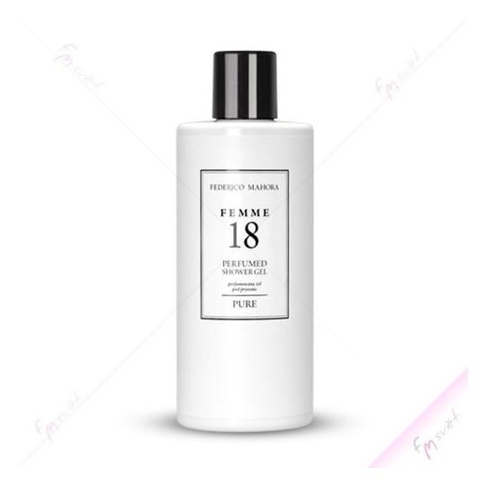 FM 18 - Dámský sprchový gel (Chanel - Coco Madmoiselle)