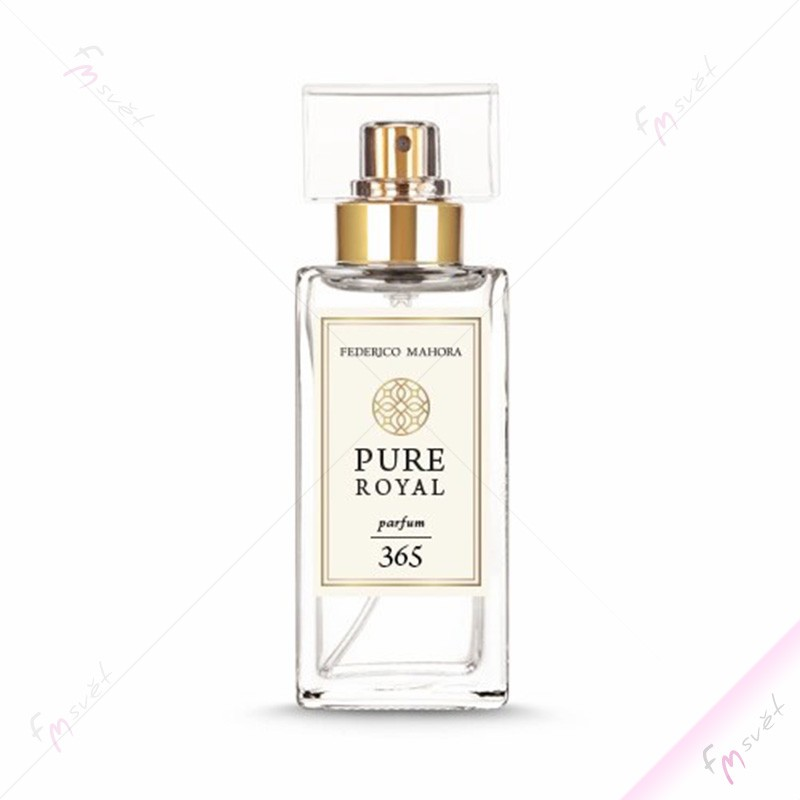 PURE ROYAL FM 365 - Dámský luxusní parfém (Chanel - Coco Noir)