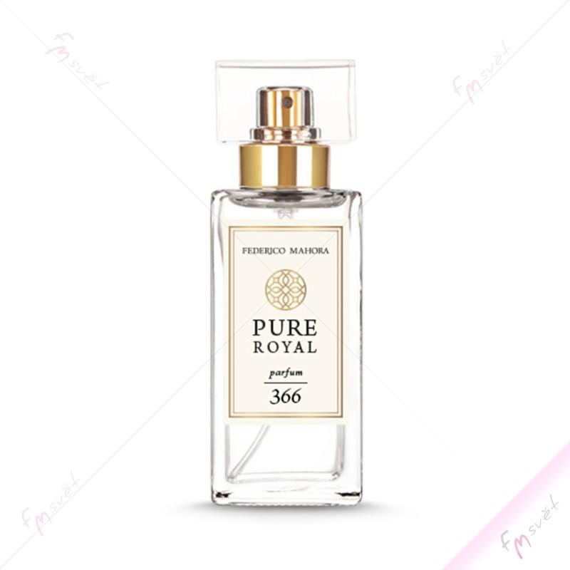 PURE ROYAL FM 366 - Dámský luxusní parfém (Yves Saint Laurent - Black Opium)